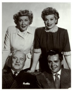 Drug runner Ricky Ricardo (lower right) and his partner Fred Mertz (lower left and their wives)