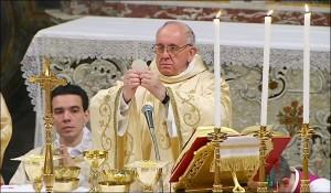 You mean he's a Catholic? We waz robbed!