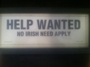 Irish savages have no place in New York!