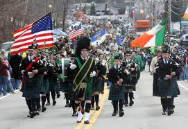 A great parade where all everyone is Irish for the day