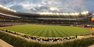 A baseball stadium in the middle of the Bronx?