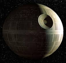 The Death star before its upgrade