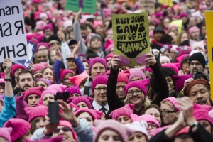 Grab us by our pussy hats!